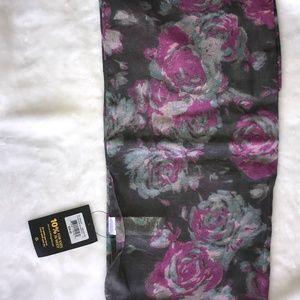 """NWT Life is good fashion scarf 52"""" square"""